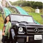 高梨沙羅のベンツ画像が凄い!値段や車種の詳細につて
